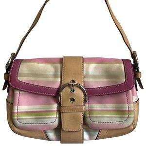Coach Multi Color Shoulder Bag